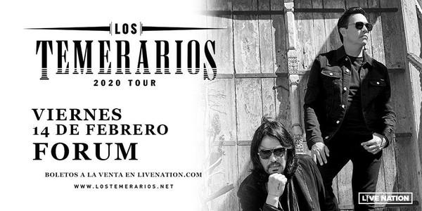 Los Temerarios Return To The Forum February 14 Scoop Marketing Los temerarios are a mexican romantic music group. los temerarios return to the forum